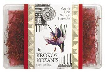 Krokos Kozanis Greek Red Saffron