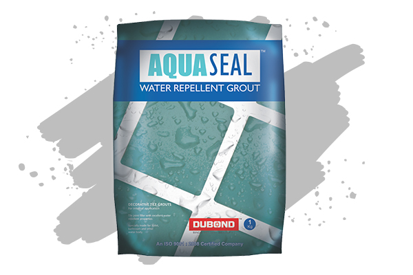 Water Repellent Polymer Based Grout