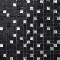 Black Glass Mosaic Tile