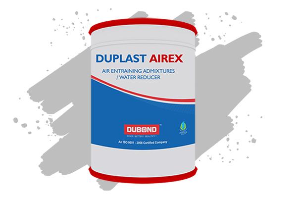 Du Plast Airex Concrete Admixtures
