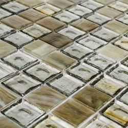 Gold and Silver Mosaic Tile
