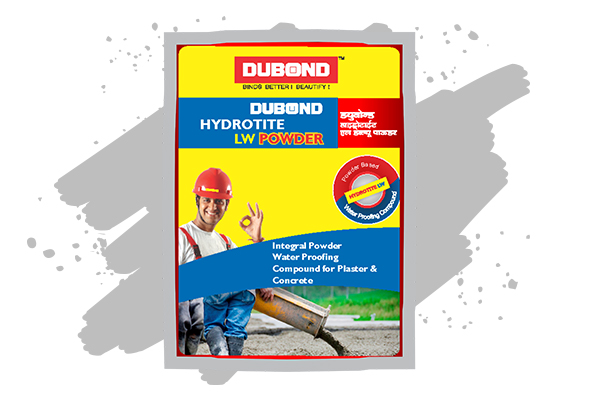 Powder Additive for Plaster & Concrete Waterproofing