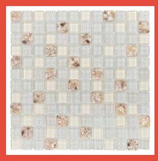 Kitchen Crystal Glass Mosaic Tile
