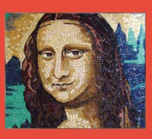 Master Hand Cut Mona Lisa Mosaic Tile