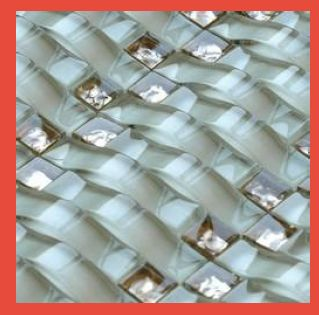 Outdoor Wall Glass Mosaic Tile