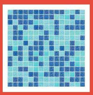 Random Mix Glass Mosaic Tile