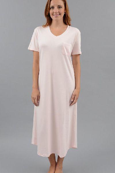 Plain Cotton Nightgown