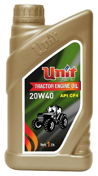 UNIT 20W40 Tractor Engine Oil (API CF 4)