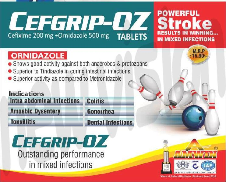 Cefgrip-Oz Tablets