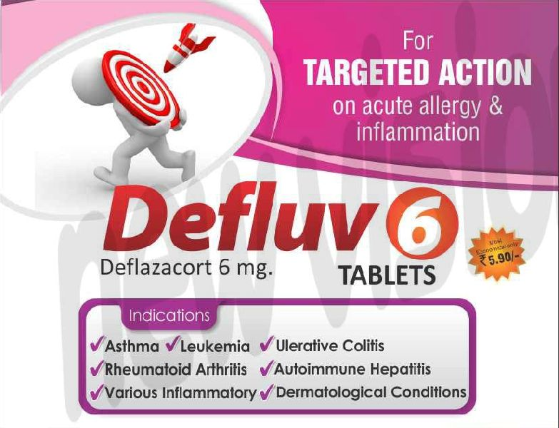 Defluv-6mg Tablets