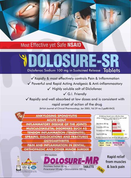 Dolosure-SR Tablets