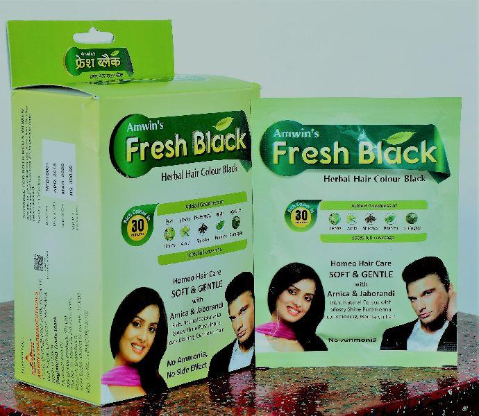 Fresh Black Herbal Hair Colour