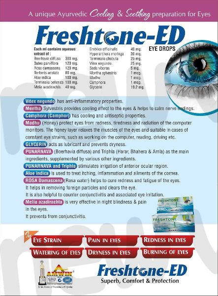 Freshtone-ED Eye Drops