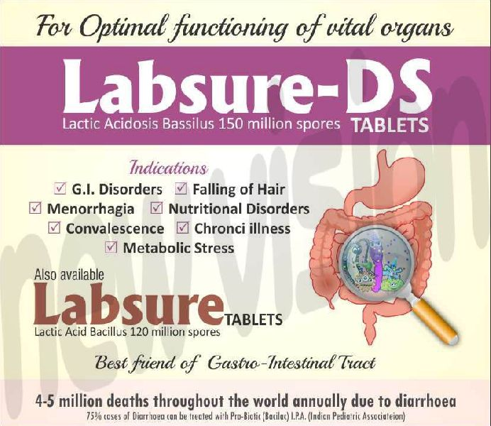 Labsure-DS Tablets