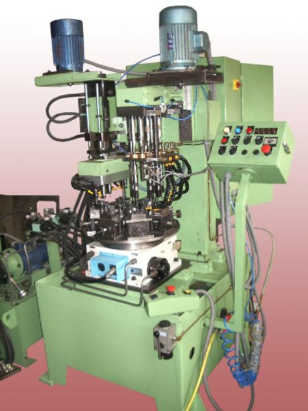 Special Purpose Rotary Indexing Type Drilling and Tapping Machine