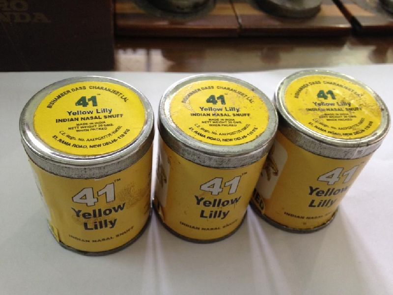 Yellow Lilly Snuff 03
