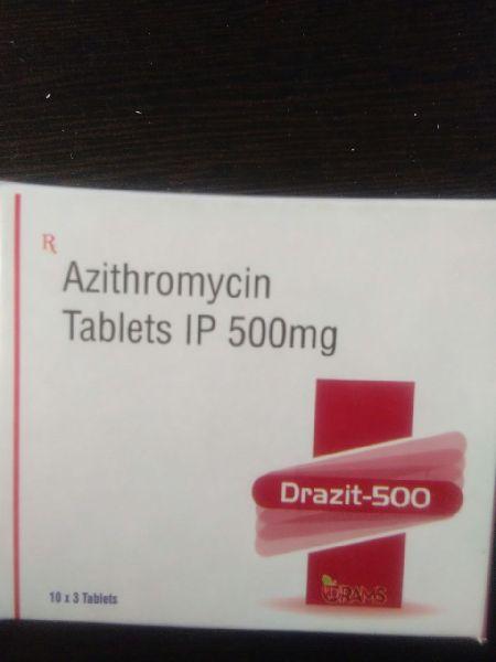 Azithromycin 500mg Tablets IP
