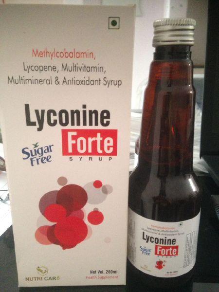 Methylcobalamin, Lycopene, Multivitamin, Multimineral & Antioxidant Syrup
