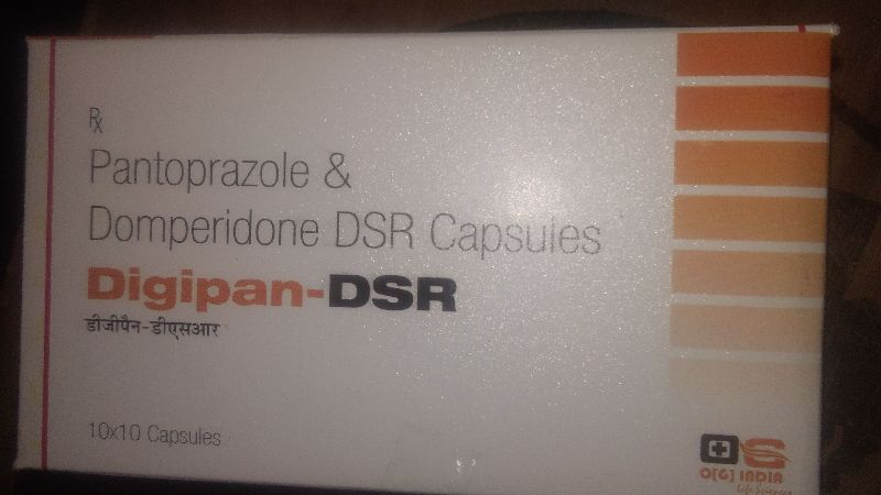 Pantoprazole & Domperidone DSR Capsules