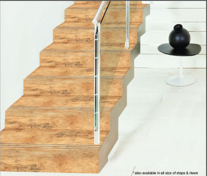 3 Ft Wooden Step Riser Tiles
