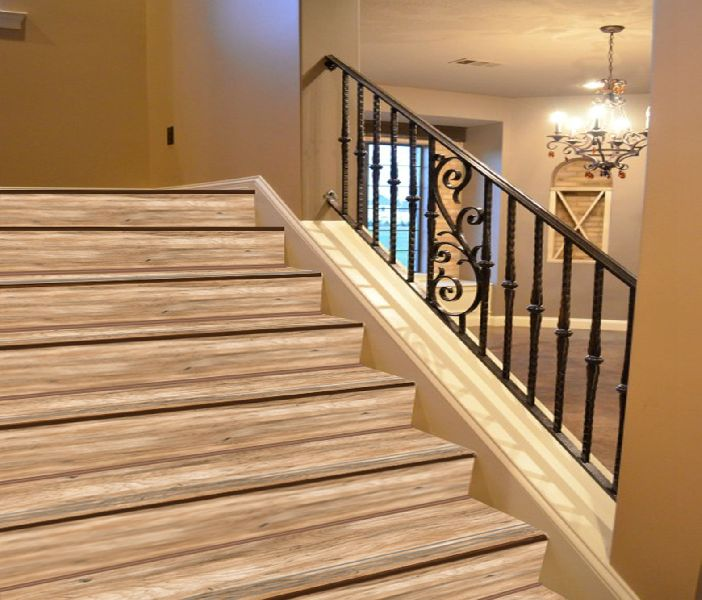 4 Ft Wooden Step Riser Tiles