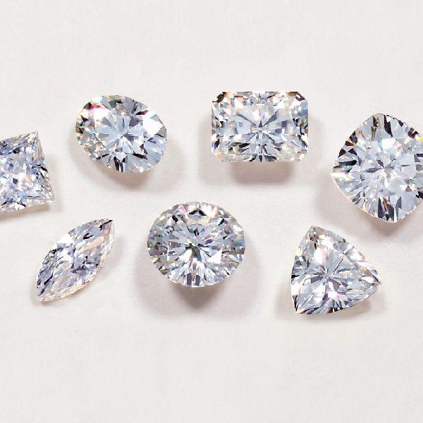Colorless Moissanite Diamond