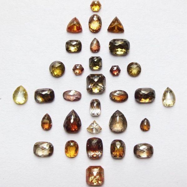 Natural ICY Rose Cut Rustic Diamond