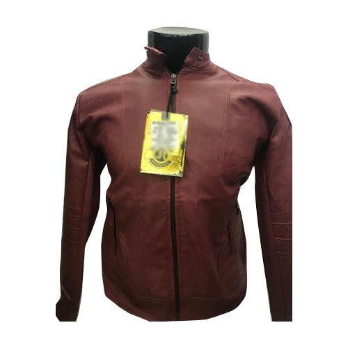 Ladies Full Sleeve Leather Jacket