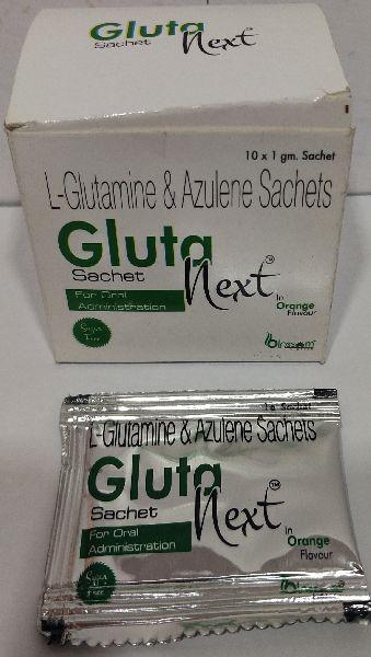 L Glutamine And Azulete Sachets