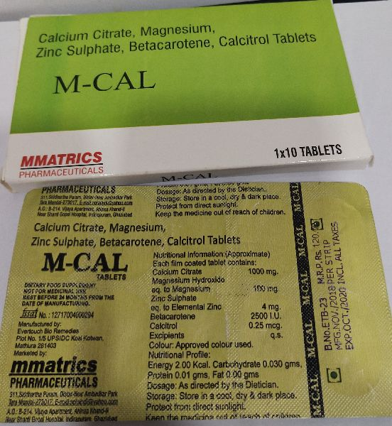 Corel Calcium Tablets