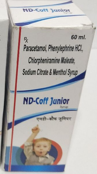 Paracetamol, Sodium Citrate And Syrup