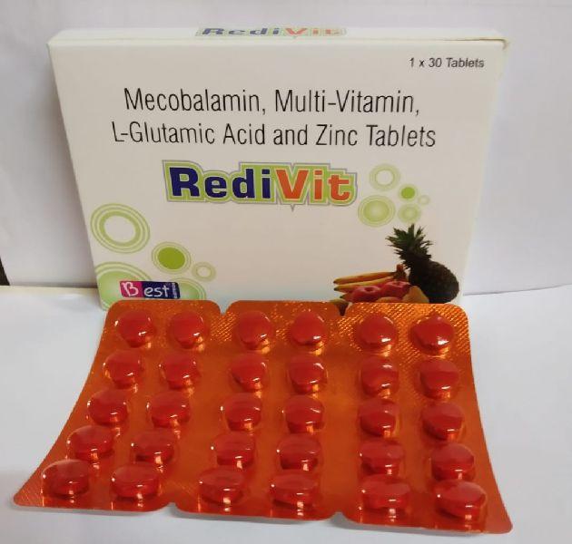 Heart Shape Multivitamin Tablets