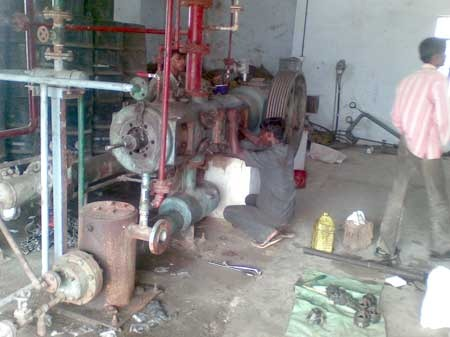 Compressor Erection & Commissioning