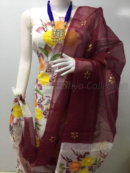 Kota Doria Multicolor Suits