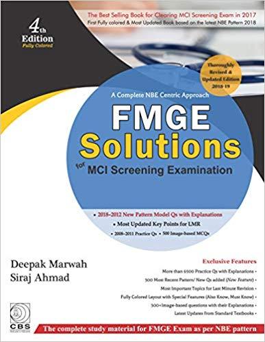 PG Medical Entrance Examination Book