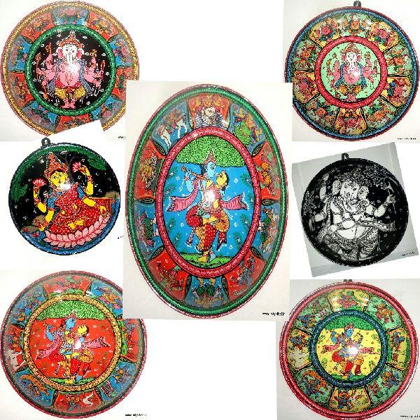 Pattachitra Wall Art Shields