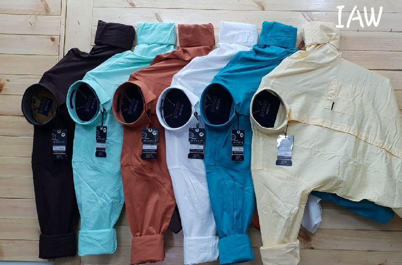 Mens Plain Shirts 01