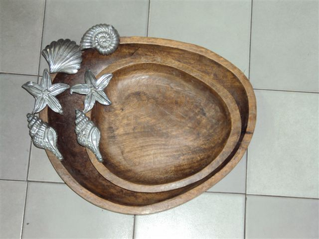 Designer Wooden Tray 02
