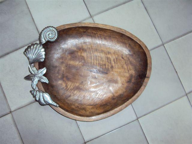 Designer Wooden Tray 03