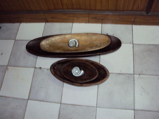 Designer Wooden Tray 07