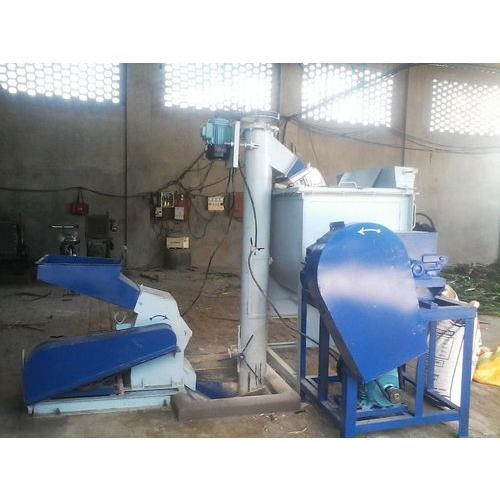 Electric Cattle Feed Making Machine