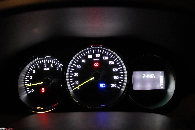 Renault Lodgy Odometer