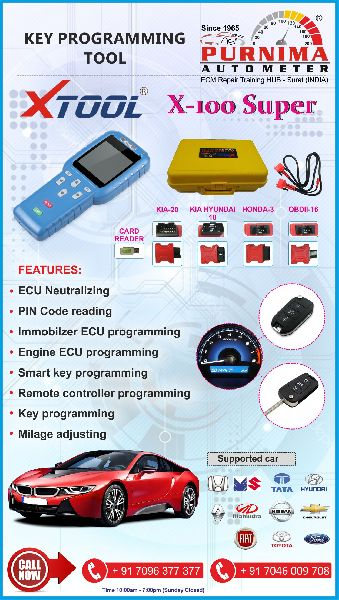 X100 Super Key Programmer Manufacturer Supplier in Surat India