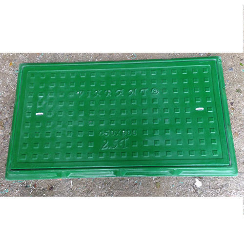 FRP Full Floor Rectangular Manhole Cover