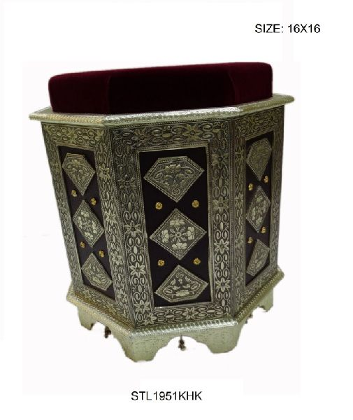 Decorative Wooden Stool