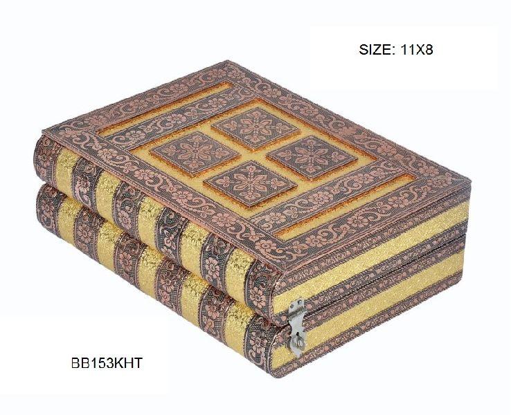 Double Roll Rexine Bangle Box
