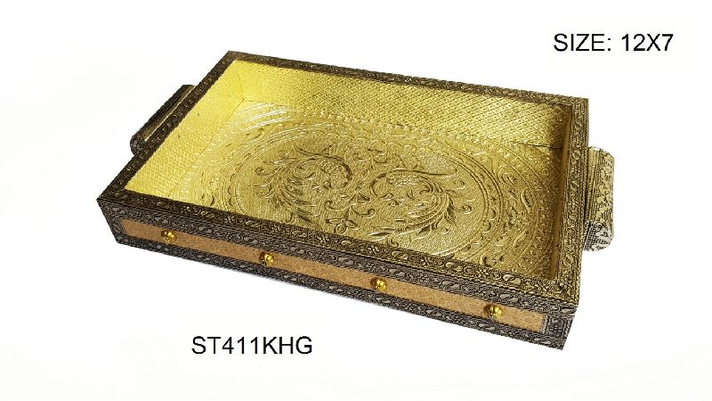 German Oxidised Serving Tray