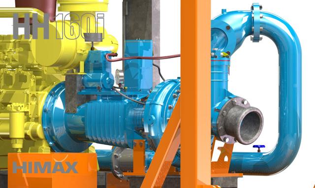 HH160i Himax High Head Pump 02