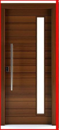 Simple Wooden Door