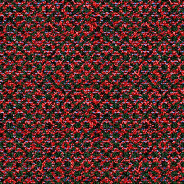 Polyester Yarn- Weaving Designs